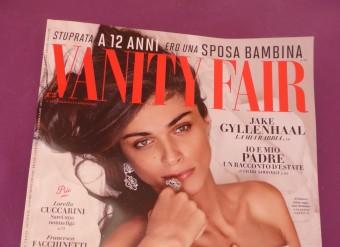 VANITY FAIR – cover +internal