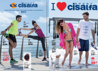 CISALFA – volantino e mat. punto vendita