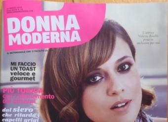 DONNA MODERNA – Cover + internal
