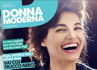DONNA MODERNA – COVER + SERVIZIO INTERNO
